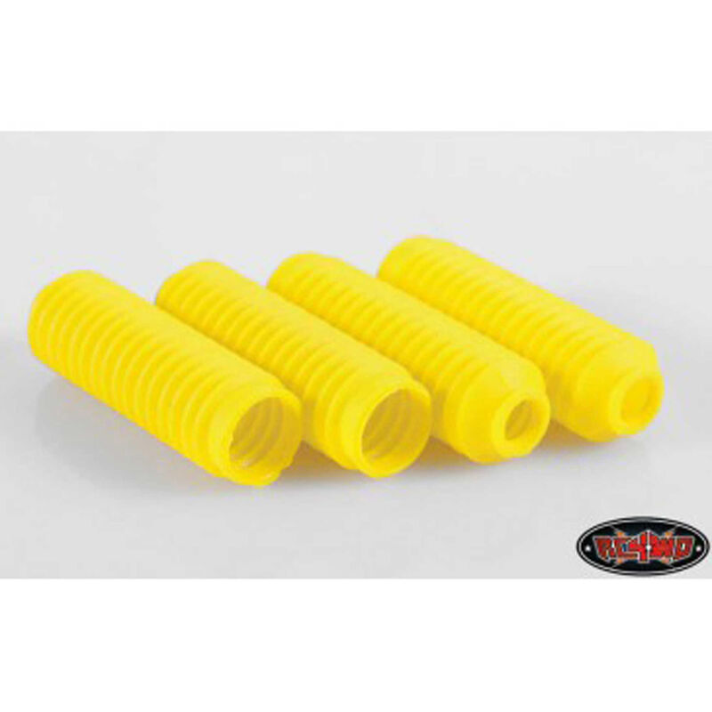 Super Scale Shock Boot, Yellow