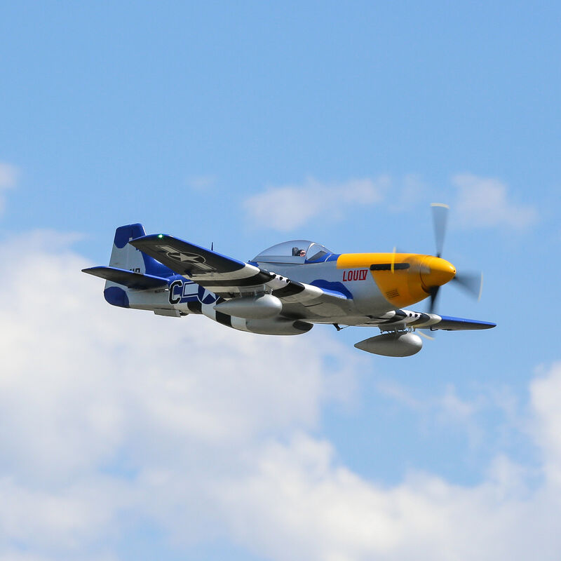 P-51D Mustang 1.5m BNF Basic with Smart