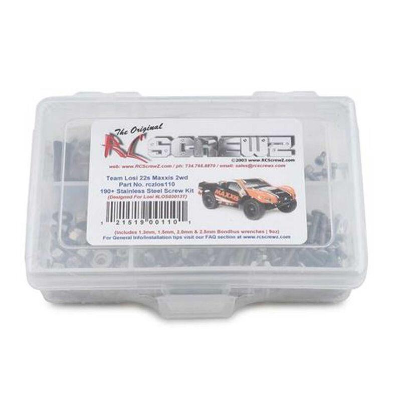 Stainless Steel Screw Kit: Losi 22 1/10