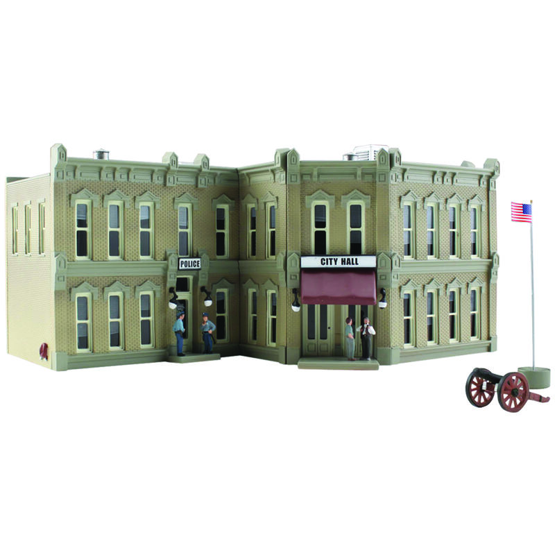 N Built Up Municipal Building