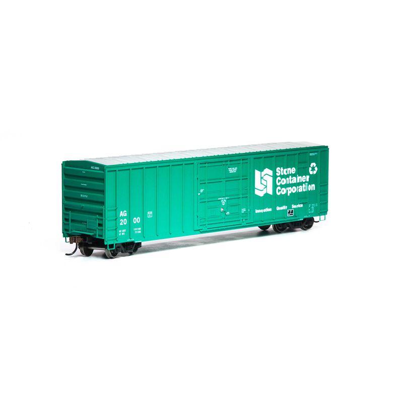 HO RTR 50' FMC Superior Plug Door Box AG #2000