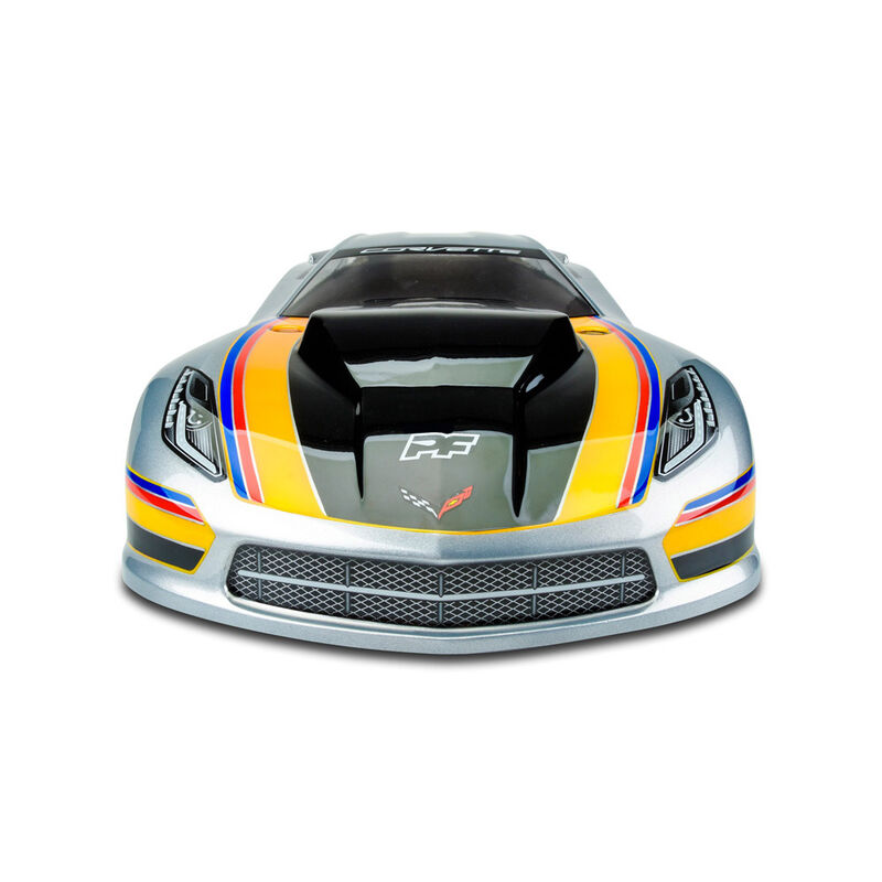 Clear Body, Chevrolet Corvette C7 Pro-Mod: 1/10 Slash 2WD