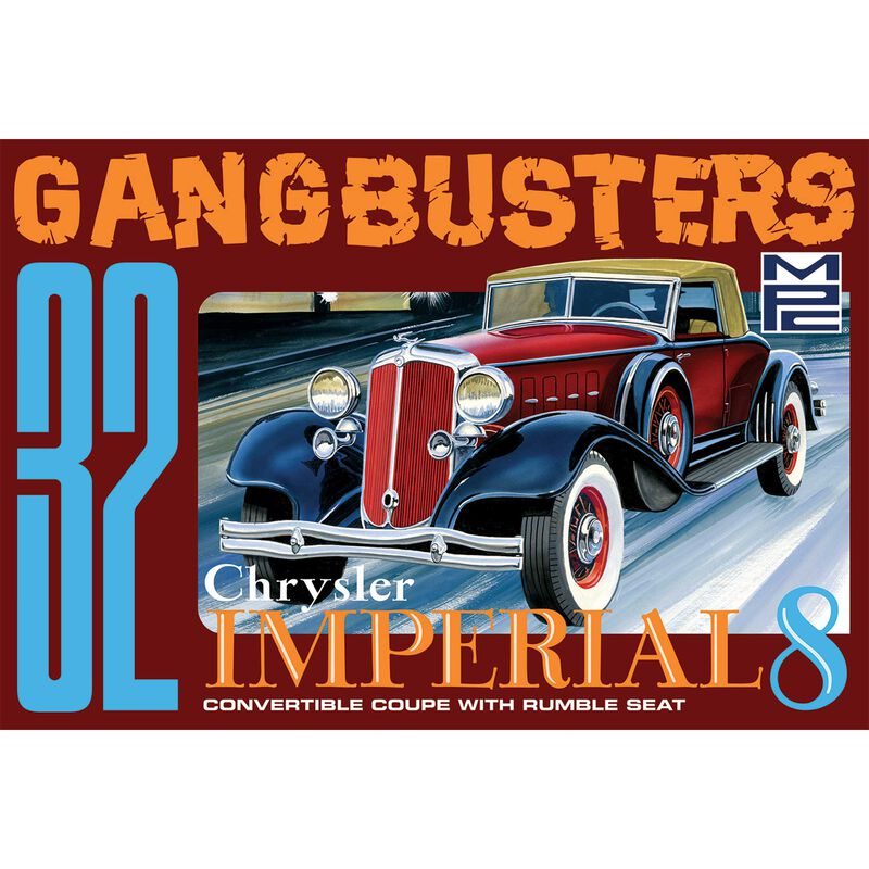 1/25 1932 Chrysler Imperial Gangbusters