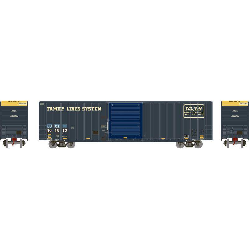 HO RTR 60' ICC Hi-Cube Box CSX ex L&N #161813