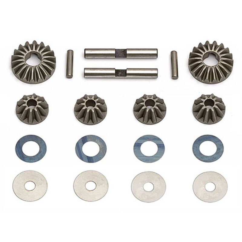 Diff Gears, Washers, Pins: RC8
