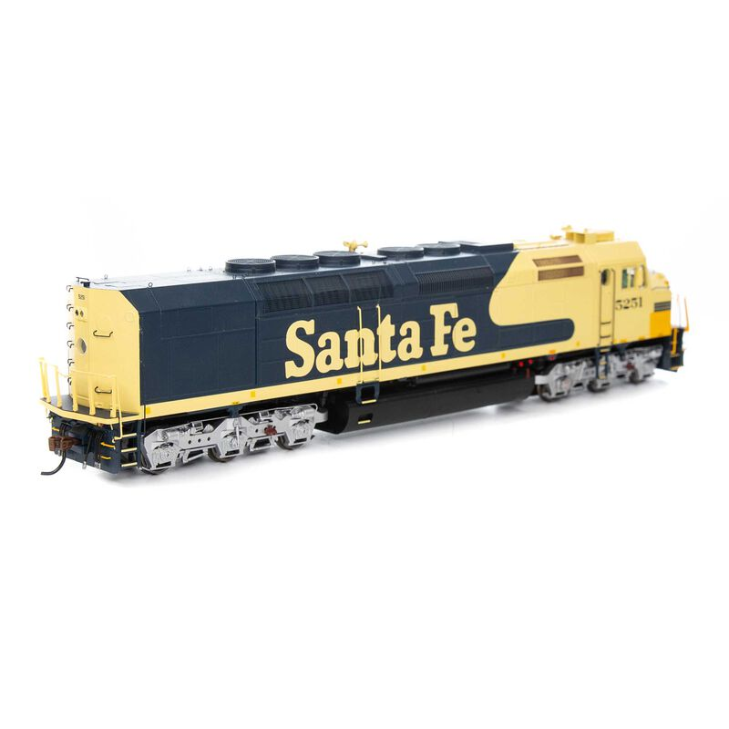 HO SDP40F with DCC & Sound ATSF #5251