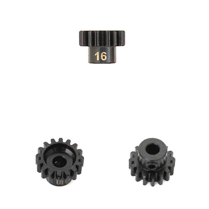 M5 Pinion Gear, 16T,  MOD1, 5mm Bore, M5 Set Screw