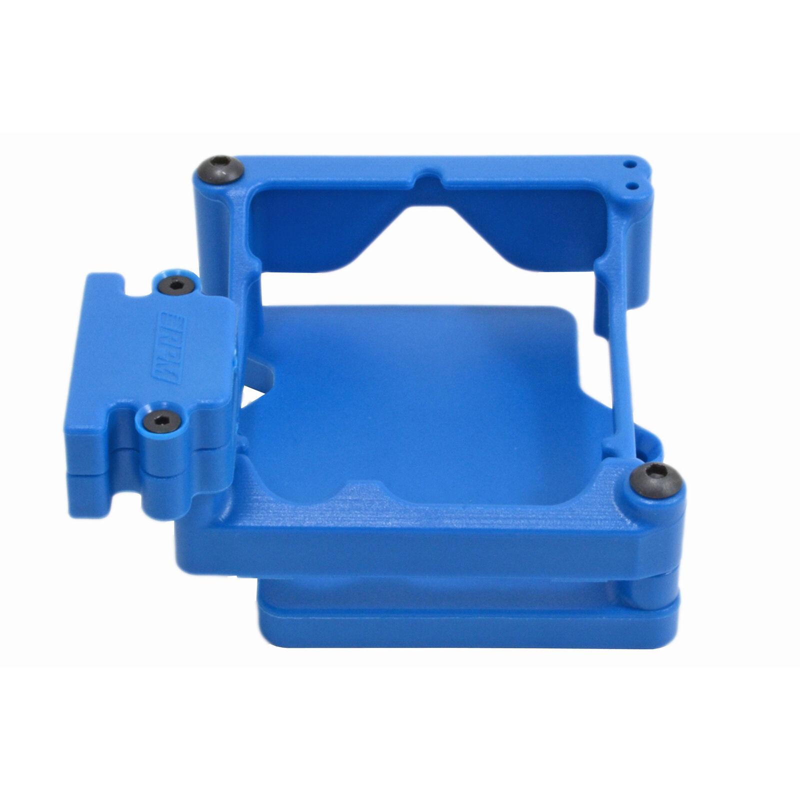 ESC Cage, Blue: Castle Sidewinder 4 ESC