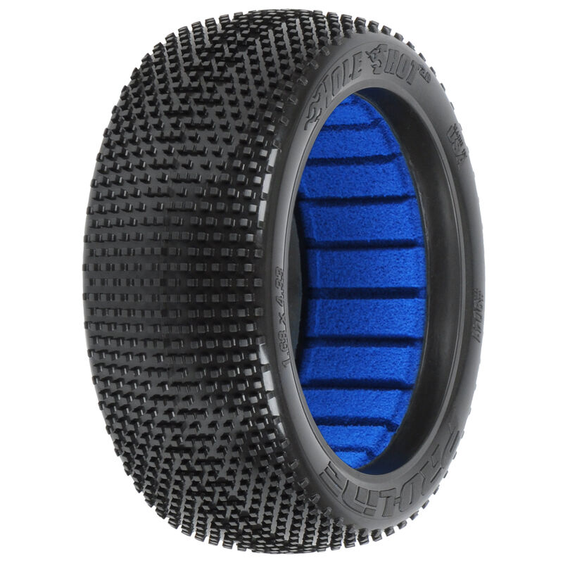 1/8 Hole Shot 2.0 M4 Front/Rear Off-Road Buggy Tires (2)