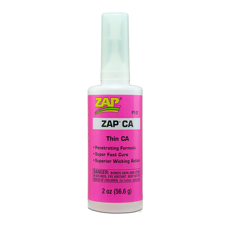 Zap Thin CA Glue, 2 oz