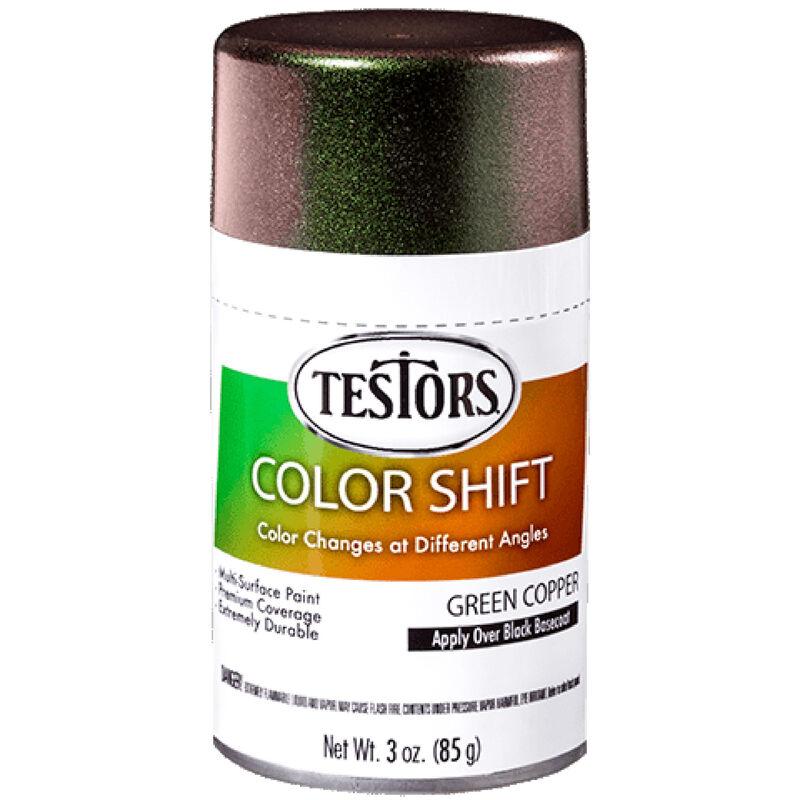 3 oz Testors Colorshift Green Copper