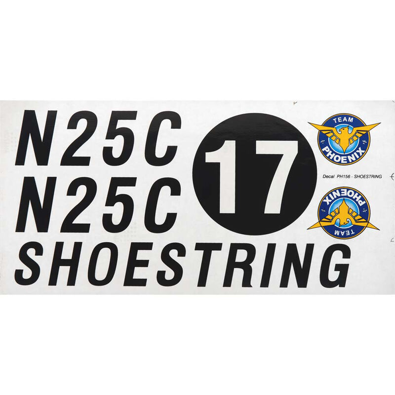 Decals Shoestring .46-.55 EP ARF