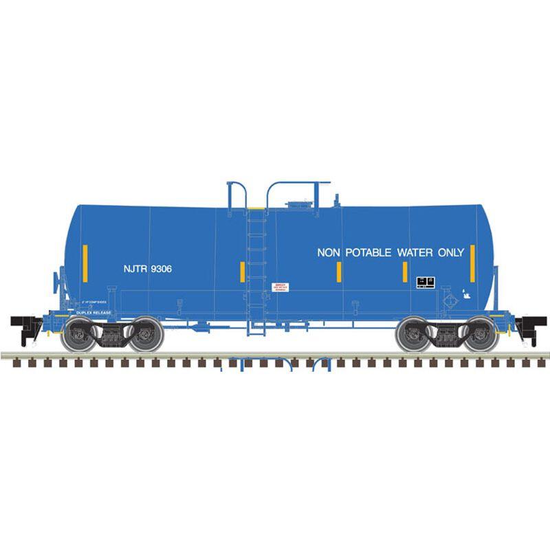 HO 17 000-Gallon Tank Car NJT #9307