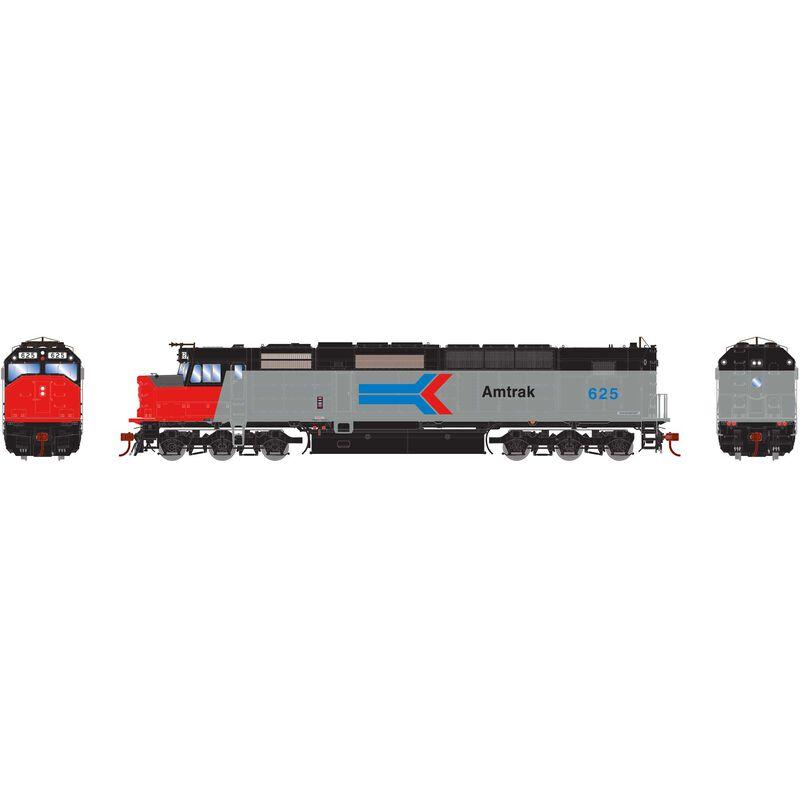 HO SDP40F with DCC & Sound Amtrak #625