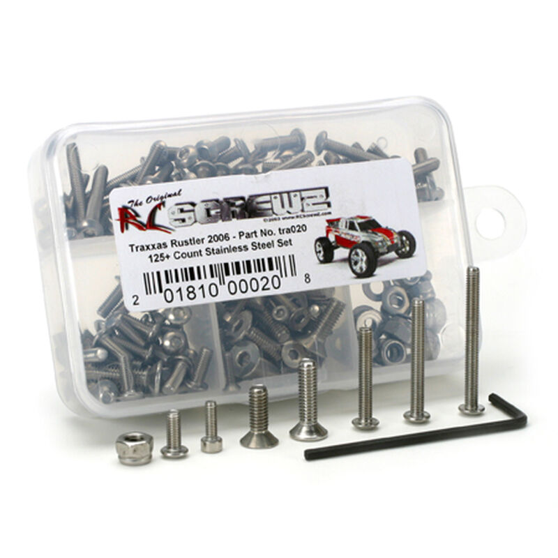 Traxxas Rustler, New Version, Screw Set