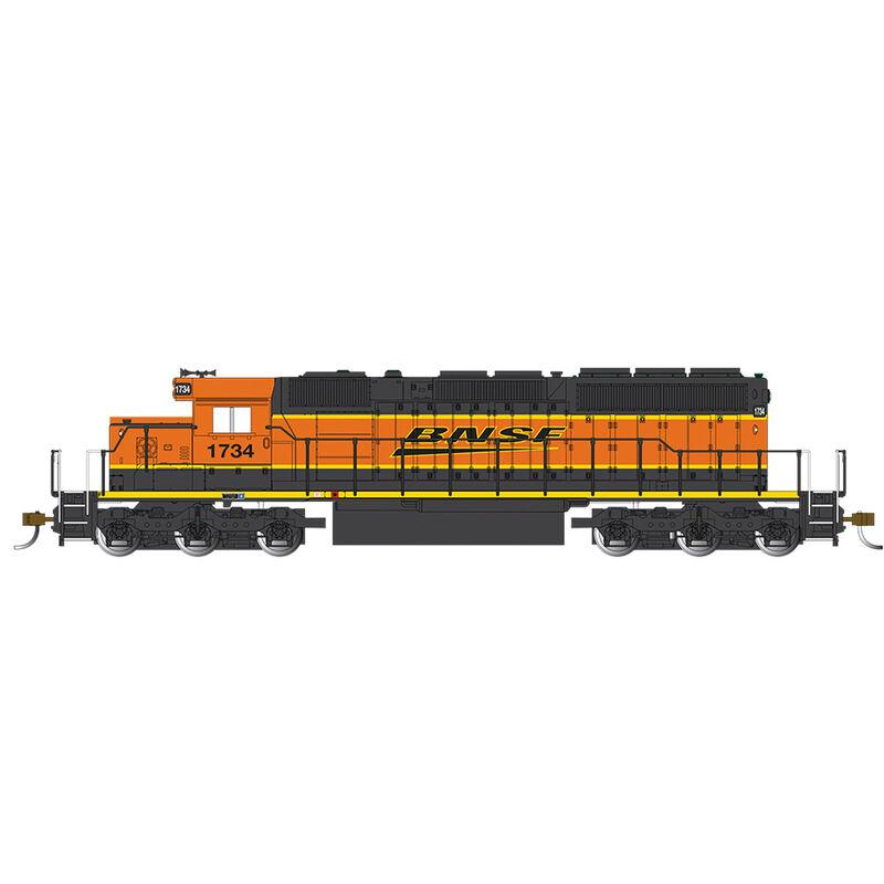 HO SD40-2 w DCC BNSF Heritage III