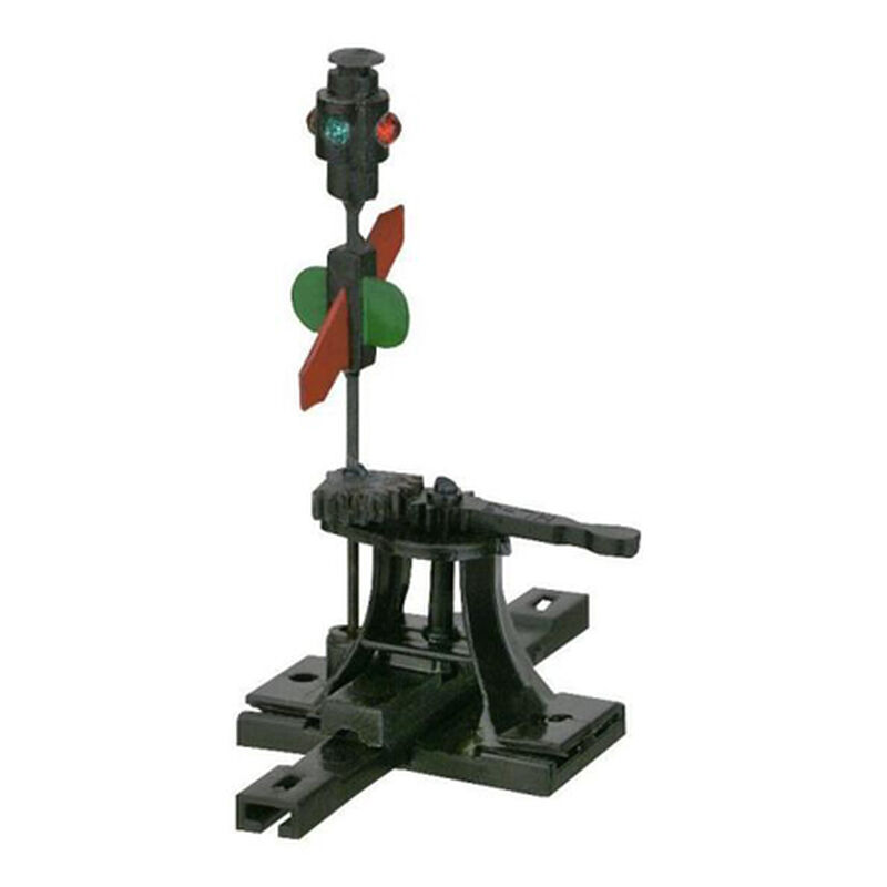 HO High Level Switch Stand w/Targets, Rigid