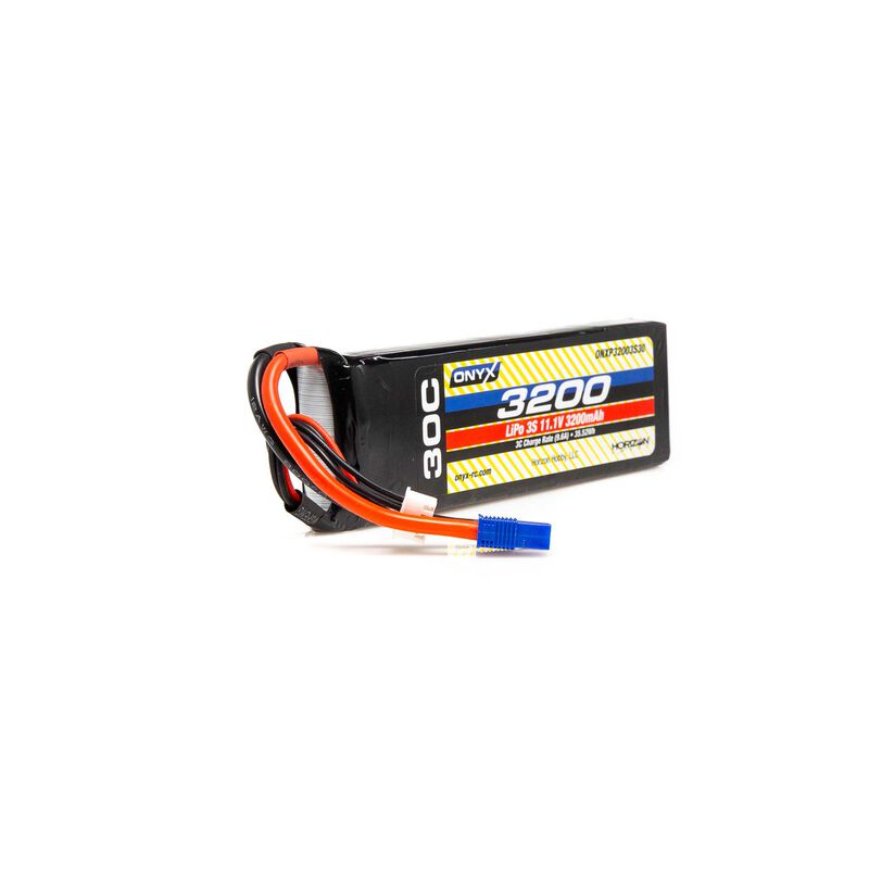 11.1V 3200mAh 3S 30C LiPo Battery: EC3