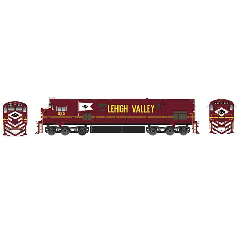 HO C628 w DCC & Sound LV Cornell Red #639
