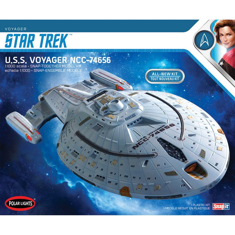 1/1000 Star Trek U.S.S. Voyager (Snap) 2T