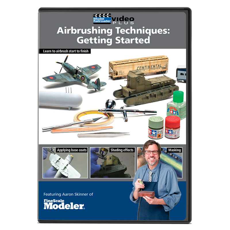 Airbrushing Technique  Getting Started DVD