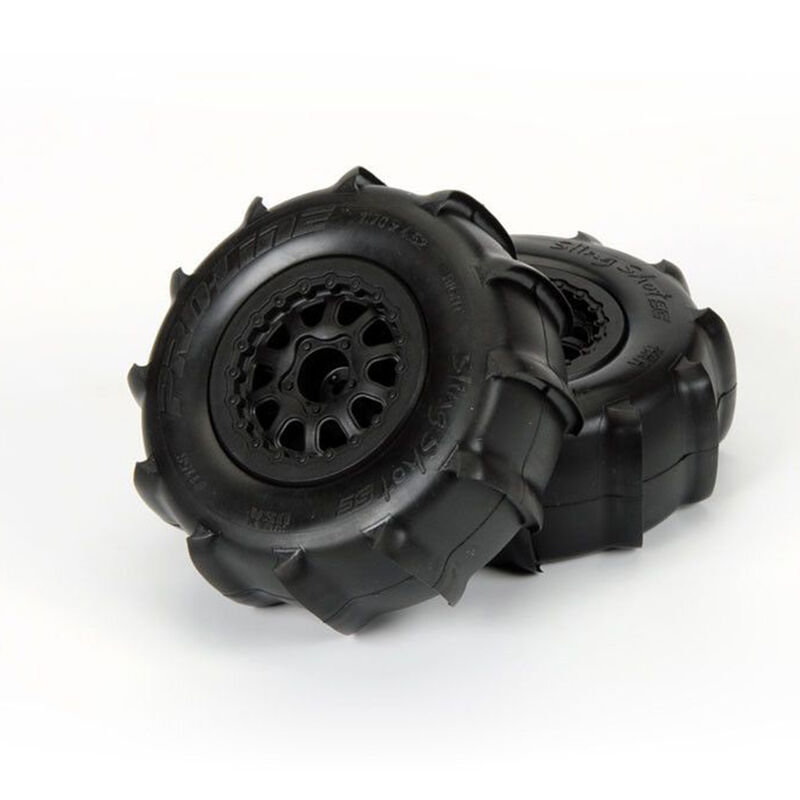 Sling Shot SC 2.2/3 XTR Renegade Wheel, Black: SLH