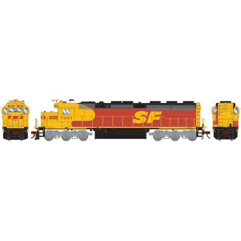 HO SD45-2 SF Kodachrome #7203