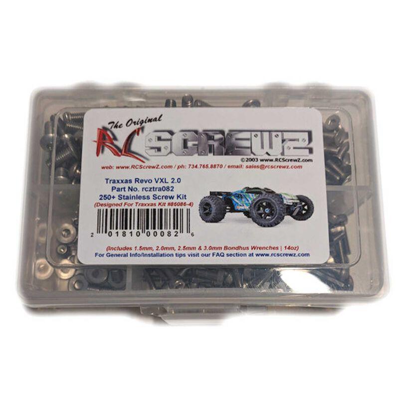 Stainless Steel Screw Set: Traxxas E-Revo 2.0 VXL