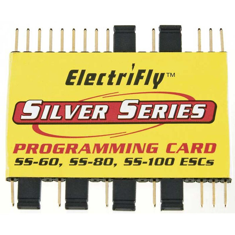 Silver Series Programming Card SS-60 SS-80