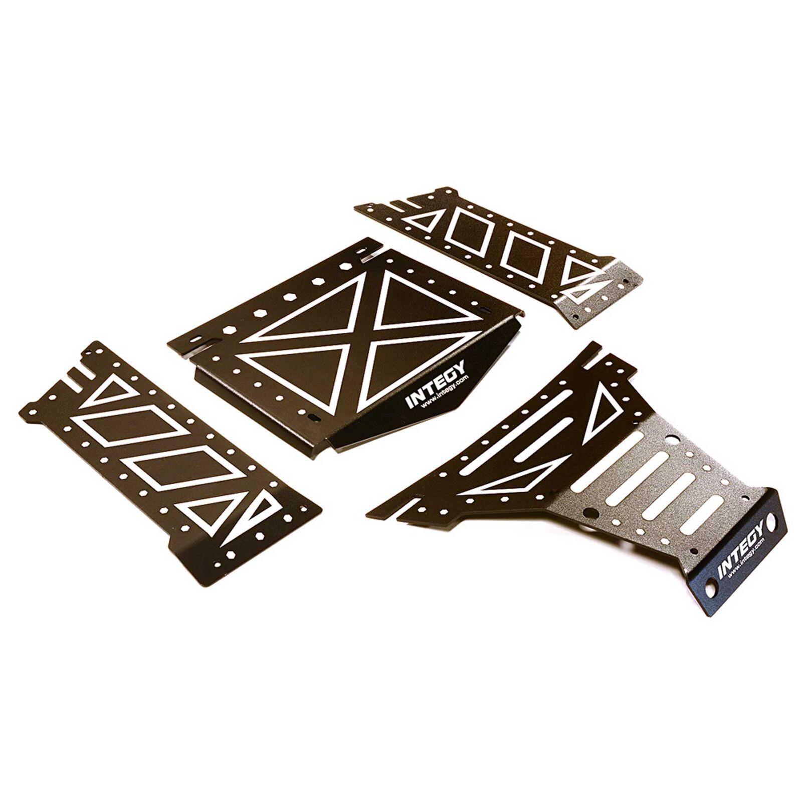 Aluminum Alloy Body Panel Kit, Black: Yeti