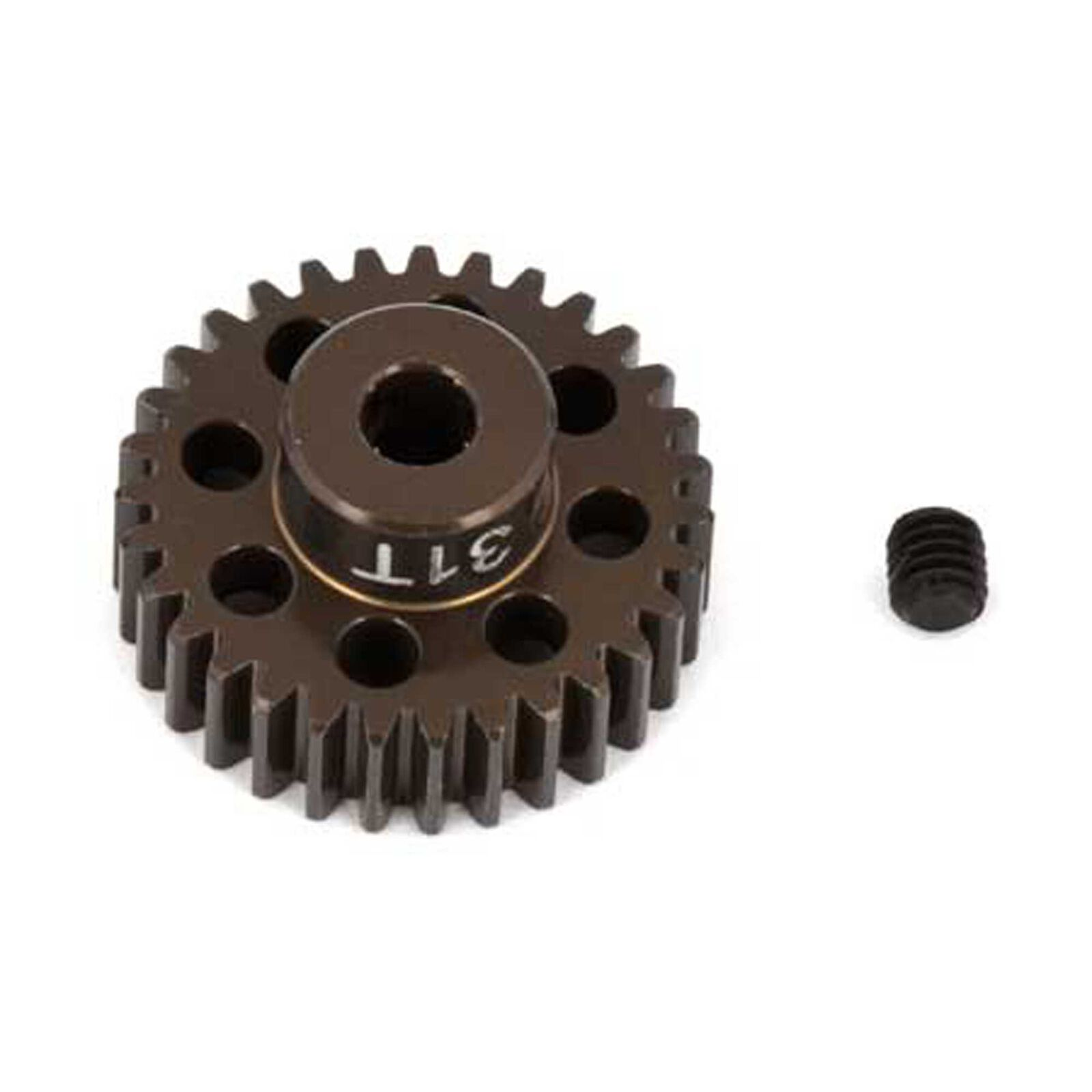 Factory Team Aluminum Pinion Gear, 31T, 48P, 1/8 shaft