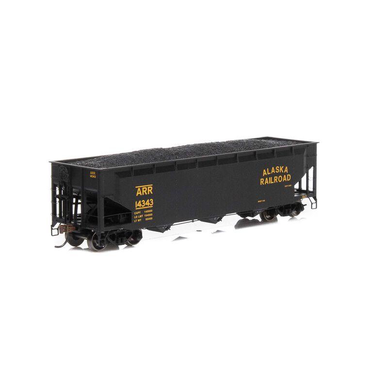 HO RTR 40' 3-Bay Offset Hopper with Load ARR #14343