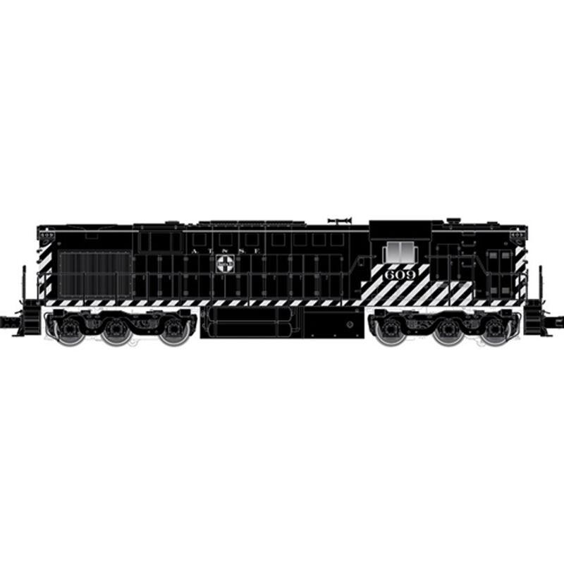 O Trainman RSD7/15 HN w/DCC & Sound, SF #604 (2R)
