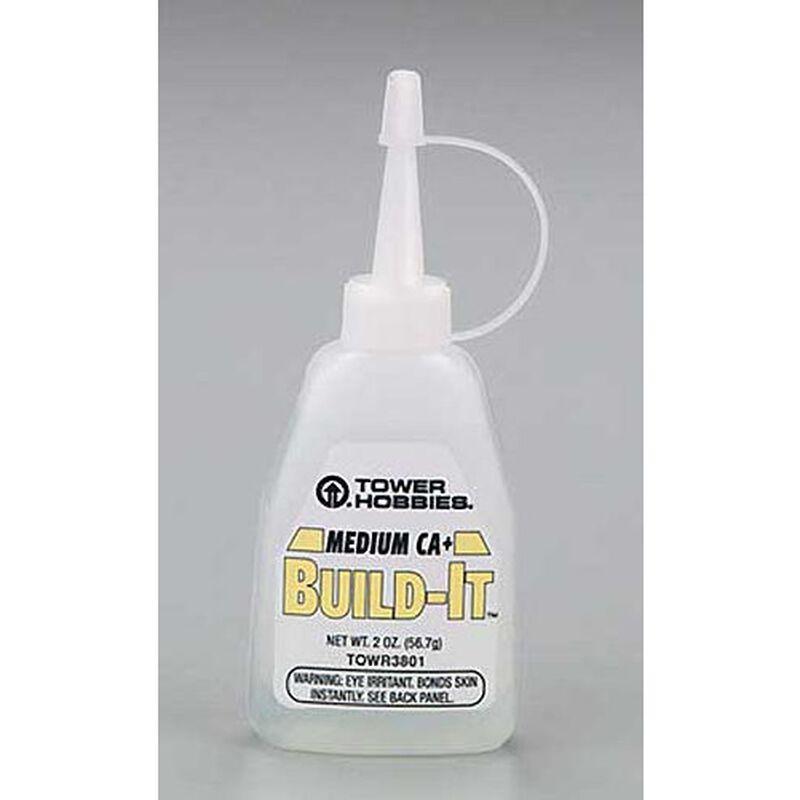 Build-It CA+ Medium Glue 2 oz.