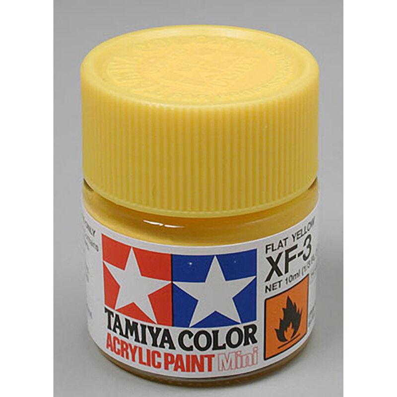 Acrylic Mini XF3, Flat Yellow