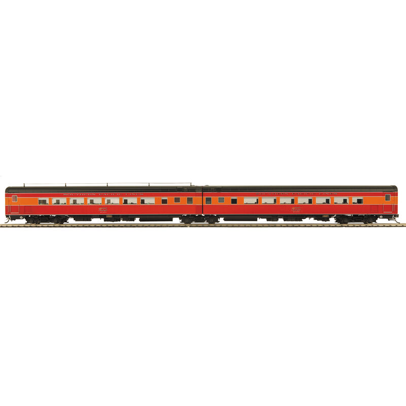 HO Articulated Chair Car Set, SP Lines #2 (3)