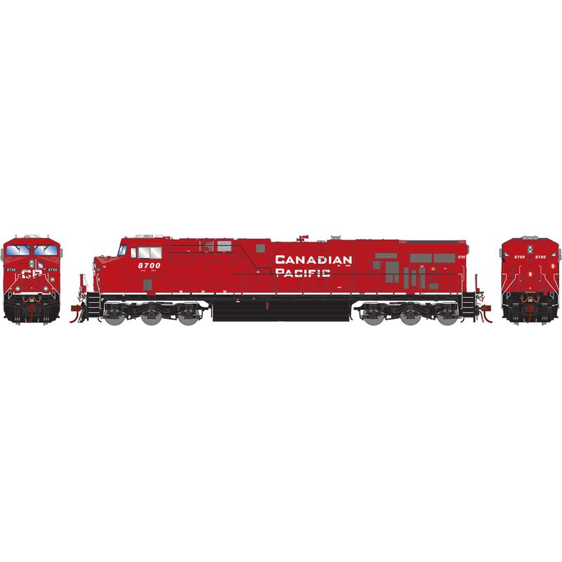 HO ES44AC w DCC & Sound CPR As Delivered #8700