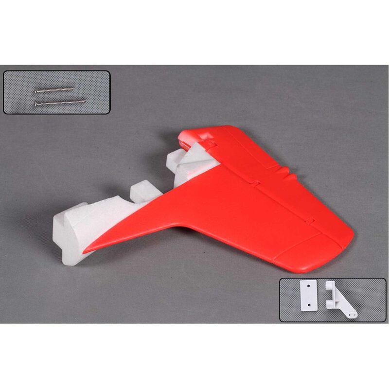 Vertical Stabalizer: T28 V4 1400mm,  Red