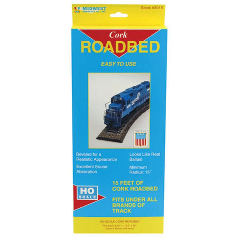 HO Cork Roadbed Strips (5)