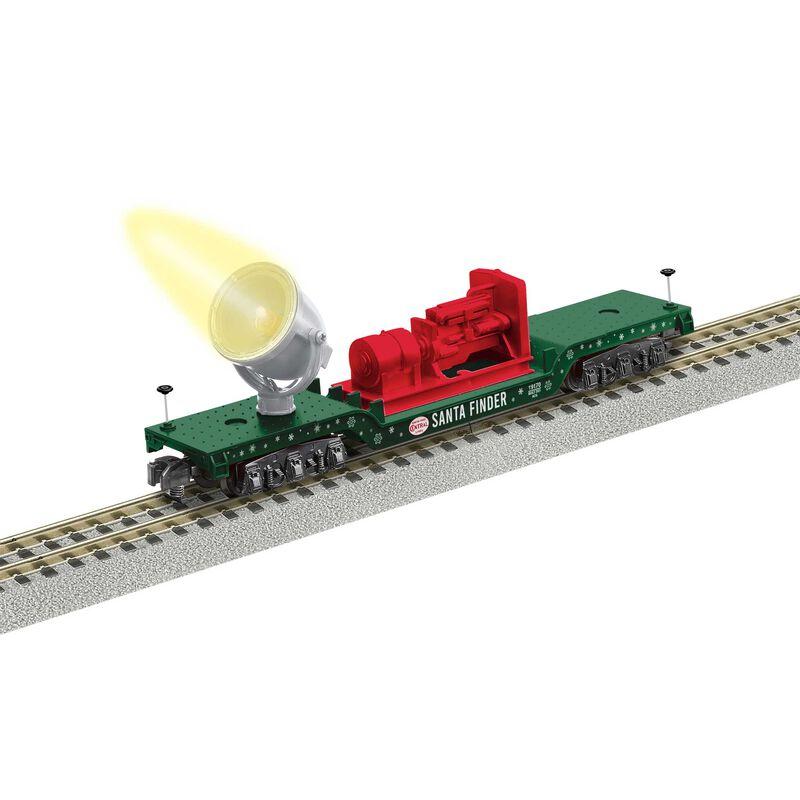 R20 Santa Tracker Searchlight Car