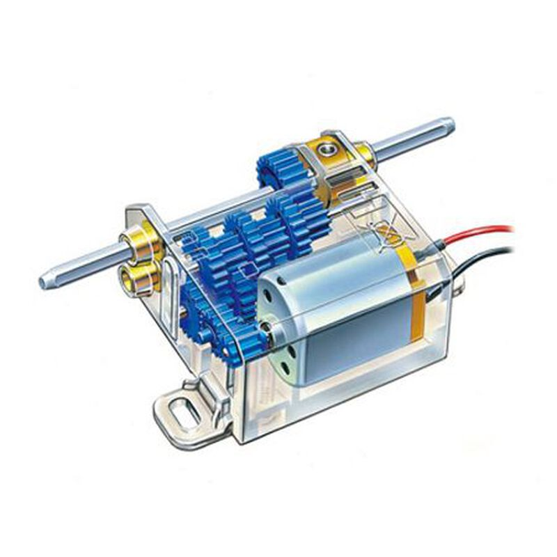 Mini Motor Multi Ratio Gearbox 12-Speed