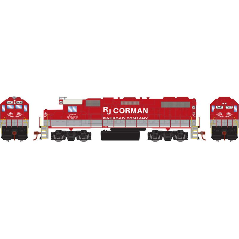 HO GP38-2 with DCC Decoder RJC #7697