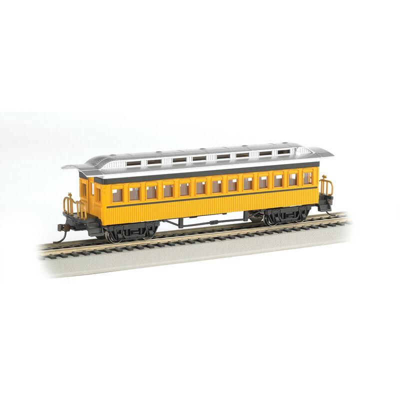 HO 1860-1880 Coach Yellow