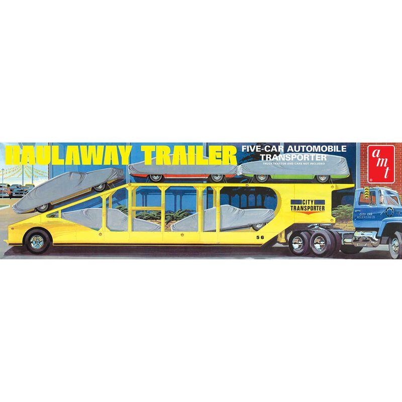 1 25 5-Car Haulaway Trailer
