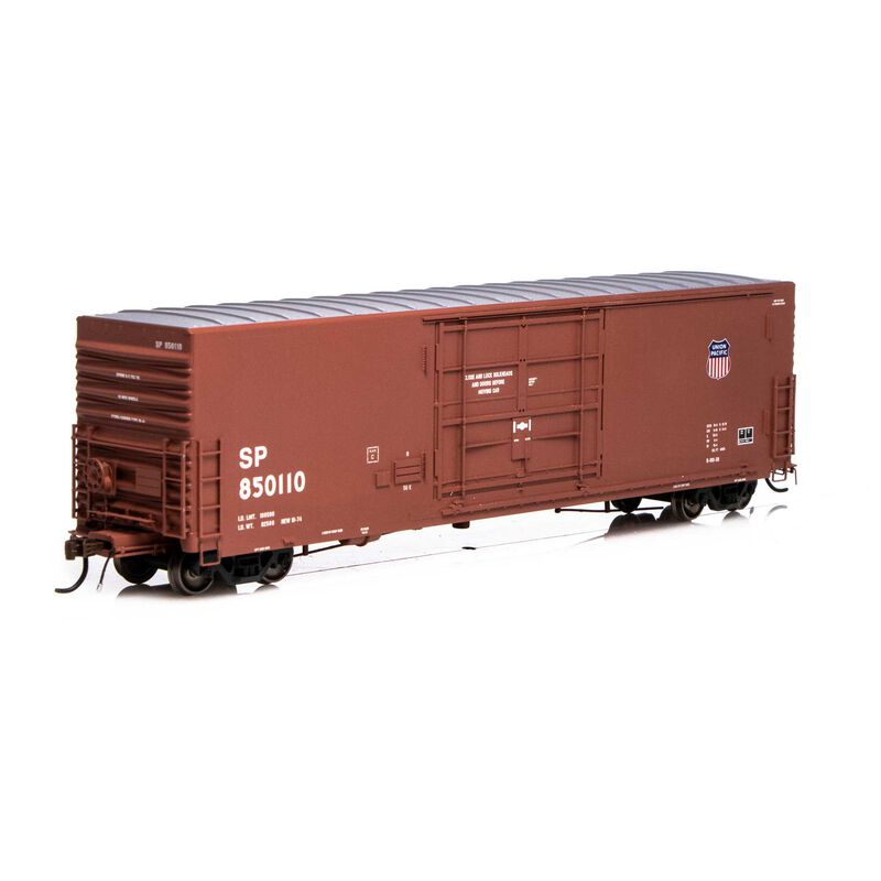 HO 50' PC&F SS Box w 14' Plug Door UP SP #850110