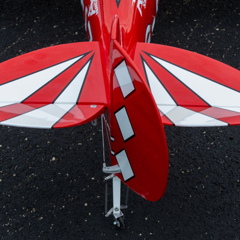 Pitts S-2B 50-60cc with DLE 61cc Gas Engine