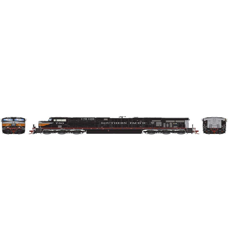 HO ES44AC with DCC & Sound SP Black Widow #750