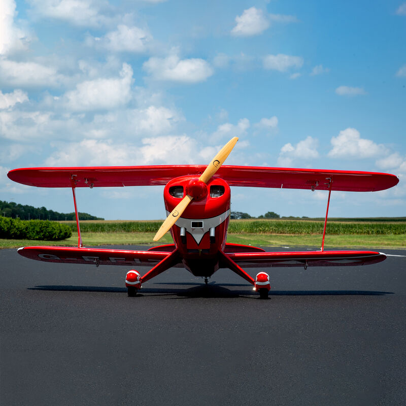 Pitts S-2B 50-60cc with DLE 60cc Twin Engine
