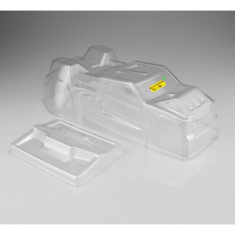 1/10 F2 Finnisher LTWT Clear Body with Rear Spoiler: T6.1