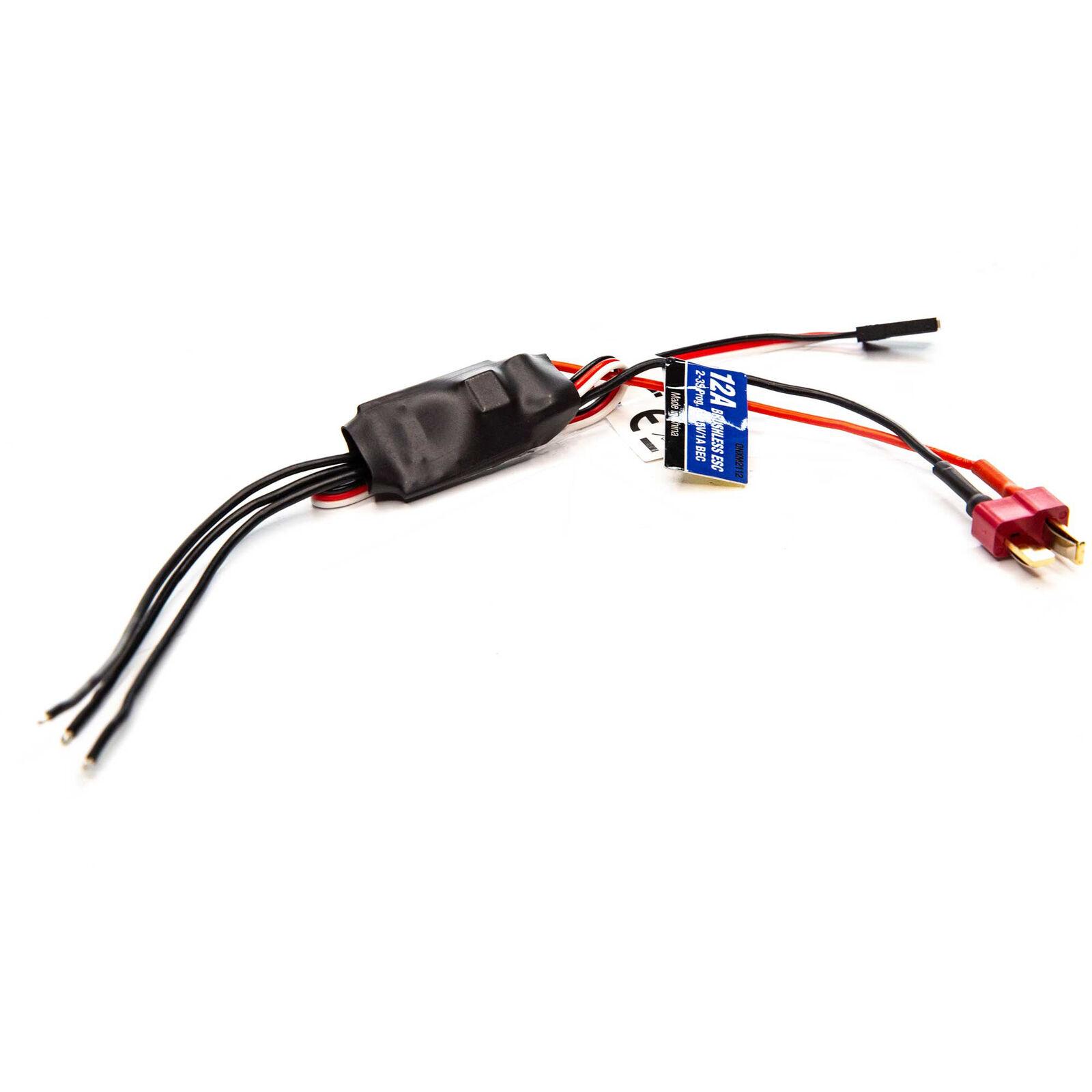 12 Amp 2-3S Programmable Brushless AIR ESC